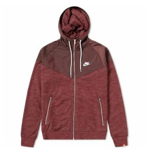 Nike Other - MEN'S SPORTSWEAR WINDRUNNER HOODIE DARKTEAM RED XL